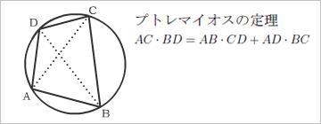 プトレマイオスの定理